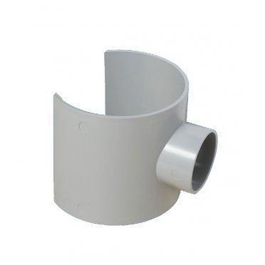 Врезка в трубу 110 мм McAlpine выход под клеевое соединение 50 мм