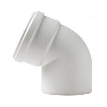 Отвод шумопоглощающий 58 мм 45° Polytron Stilte Plus