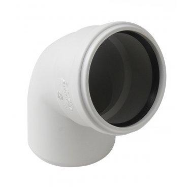Отвод шумопоглощающий 58 мм 67° Polytron Stilte Plus