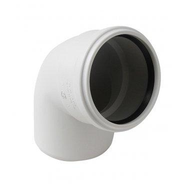 Отвод шумопоглощающий 110 мм 67° Polytron Stilte Plus