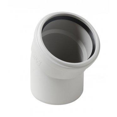 Отвод шумопоглощающий 58 мм 30° Polytron Stilte Plus