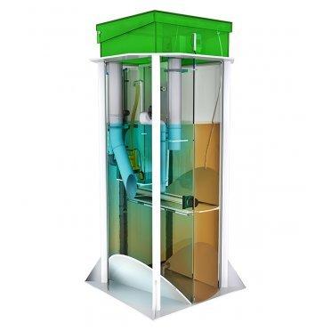 Станция глубокой биомеханической очистки сточных вод Евробион-8 ПС