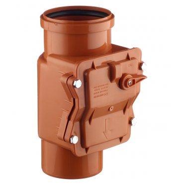 Клапан обратный канализационный наружный 110 мм