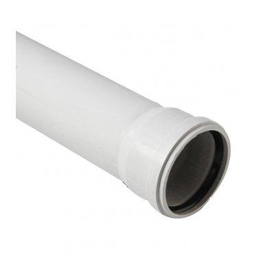Труба канализационная шумопоглощающая 110x1500 мм Polytron Stilte Plus