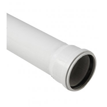 Труба канализационная шумопоглощающая 58x1500 мм Polytron Stilte Plus