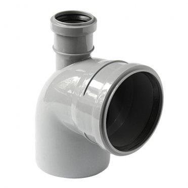 Отвод Polytron Comfort d110х50 мм 87,5° прямой