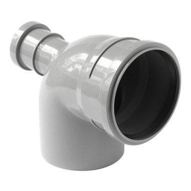Отвод Polytron Comfort d110х50 мм 87,5° фронтальный