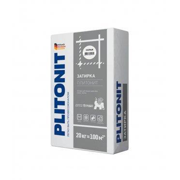 Затирка Plitonit серая 20 кг