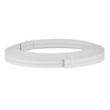 Карниз потолочный пластмассовый гибкий 600 см белый