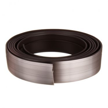 Бленда 50 мм для пластмассового карниза 350 см серебро патина
