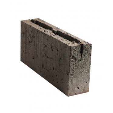 Блок керамзитобетонный перегородочный пустотелый ПКЦ 90х188х390 мм