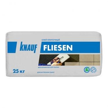 Клей для плитки Knauf Флизен серый (класс С0) 25 кг