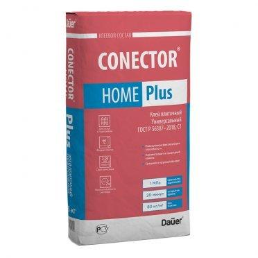 Клей для плитки DAUER Conector Home Plus универсальный серый (класс С1) 25 кг