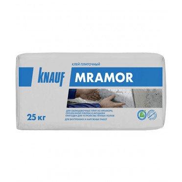 Клей для плитки, керамогранита, мозаики и камня Knauf Мрамор белый (класс С2) 25 кг
