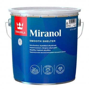 Эмаль алкидная Tikkurila Miranol основа С глянцевая 2,7 л