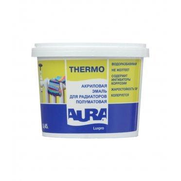 Эмаль для радиаторов в/д Aura Luxpro Thermo полуматовая 0,45 л