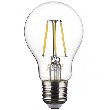 Лампа светодиодная REV 5 Вт E27 филаментная груша A60 4000 К дневной свет 230 В прозрачная