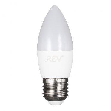 Лампа светодиодная REV 9 Вт E27 свеча С37 4000 К дневной свет 230 В матовая