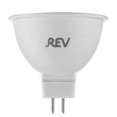 Лампа светодиодная REV 7 Вт GU5.3 рефлектор MR16 3000 К теплый свет 230 В