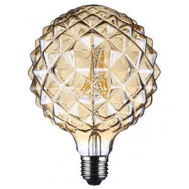 Лампа светодиодная REV VINTAGE 5 Вт E27 филаментная шар G125 2200 К теплый свет 230 В прозрачная