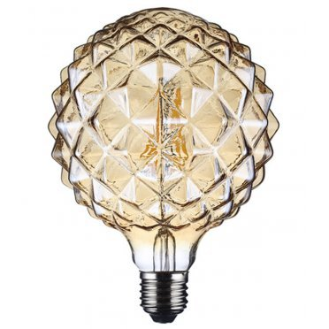 Лампа светодиодная REV VINTAGE 5 Вт E27 филаментная шар G95 2200 К теплый свет 230 В прозрачная