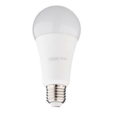 Лампа светодиодная Gauss Elementary 25 Вт E27 груша A67 4100 К дневной свет 180-240 В матовая