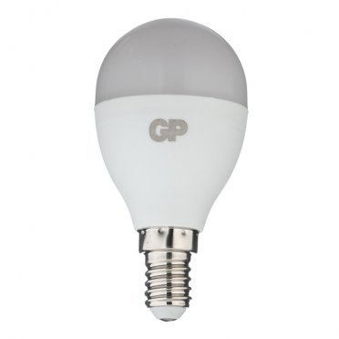 Лампа светодиодная GP 7 Вт E14 шар G45 2700 К теплый свет 220-240 В матовая