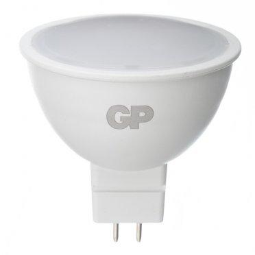 Лампа светодиодная GP 5,5 Вт GU5.3 рефлектор MR16 2700 К теплый свет 220-240 В