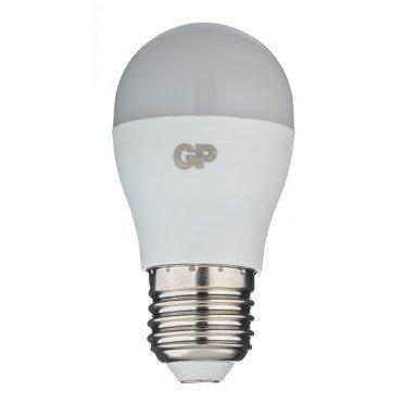 Лампа светодиодная GP 7 Вт E27 шар G45 2700 К теплый свет 220-240 В матовая