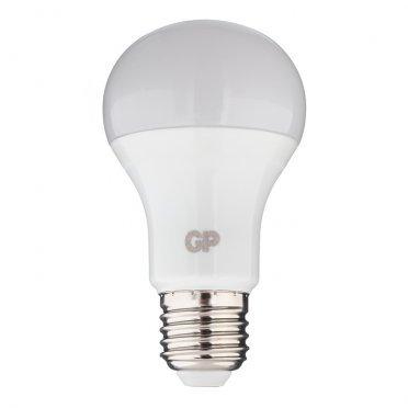 Лампа светодиодная GP 7 Вт E27 груша A60 2700 К теплый свет 220-240 В матовая