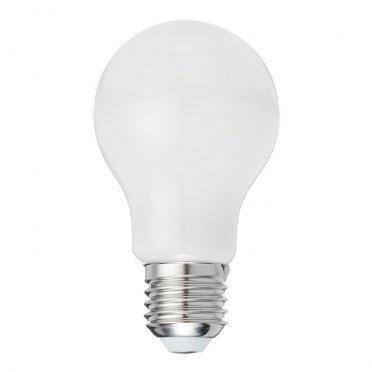 Лампа светодиодная Gauss ЛОН 10 Вт Е27 филаментная груша А60 4100 К дневной свет 185-265 В матовая диммируемая