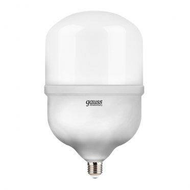 Лампа светодиодная Gauss 60 Вт E27 цилиндр T160 6500 К холодный свет 180-240 В матовая