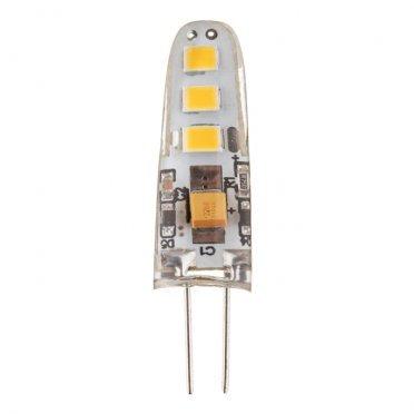 Лампа светодиодная Navigator 2,5 Вт G4 капсула 3000 К теплый свет 12 В