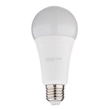 Лампа светодиодная Gauss Elementary 30 Вт E27 груша A67 4100 К дневной свет 180-240 В матовая
