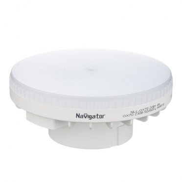 Лампа светодиодная Navigator 20 Вт GX70 таблетка 4000 К дневной свет 230 В