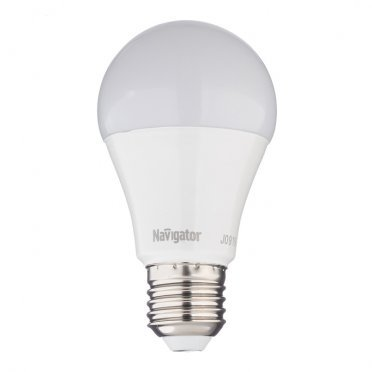 Лампа светодиодная Navigator 10 Вт E27 фитолампа груша A60 230 В матовая для растений