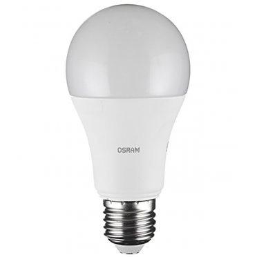 Лампа светодиодная Osram 14 Вт E27 груша A60 2700 К теплый свет 230 В матовая