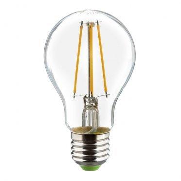 Лампа светодиодная Navigator 8 Вт E27 груша A60 2700 К теплый свет 230 В прозрачная диммируемая