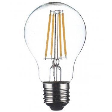 Лампа светодиодная Osram 7 Вт E27 филаментная груша A60 2700 К теплый свет 230 В прозрачная