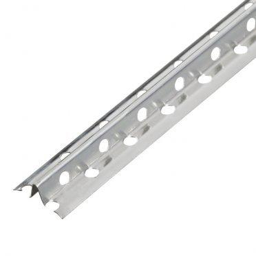 Профиль маячковый Стандарт 10 мм 3 м 0,40 мм алюминиевый