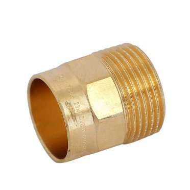 Муфта Viega под наружную пайку 28 мм х 1 НР(ш) бронзовая
