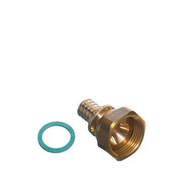 Соединитель прямой RX Rehau (13660761001) 16 мм х 3/4 ВР(г) с накидной гайкой