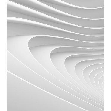 Фотообои Ateliero Модерн белый 22-8124 (2х2 м)