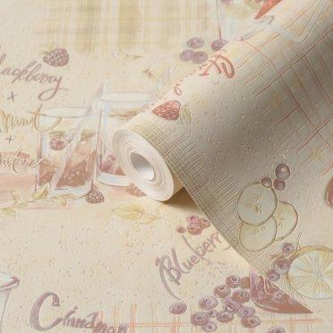 Обои виниловые на бумажной основе Elysium Фруточино 902601 (0,53х10 м)