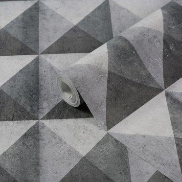 Обои виниловые на флизелиновой основе МИР Concrete 45-197-02 (1,06х10 м)