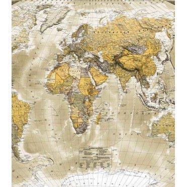 Фотообои Ateliero Карта 21-8044 (2х1,3 м)