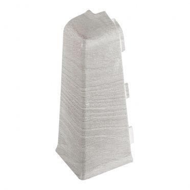 Уголок для плинтуса напольного наружный Salag Lima 72 мм серый гладстоун (1 шт.)