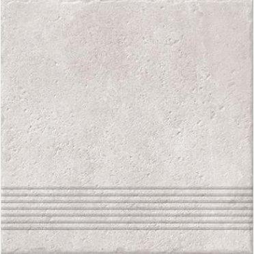 Керамическая плитка Carpet Ступень рельеф, бежевый (C-CP4A016D) 29,8х29,8