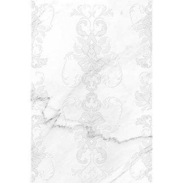 Керамическая плитка Oriental вставка белая (OE2N051) 30x45