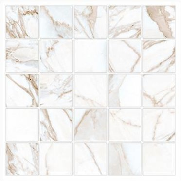 Керамогранит Marble Trend Мозаика K-1001/MR/m14/30,7x30,7 Calacatta